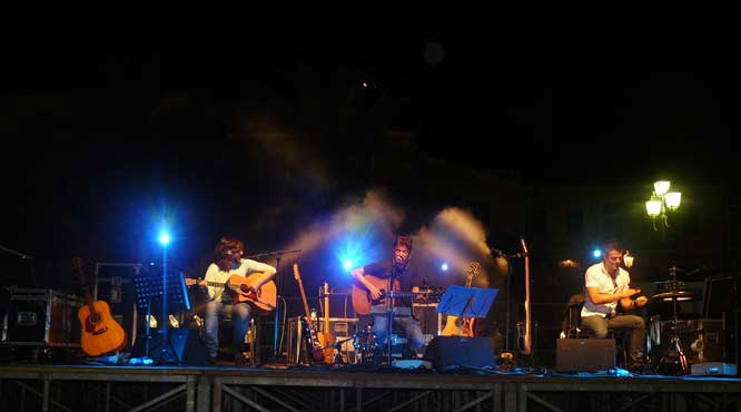 Sonohra Acoustic Trio, Isola d'Elba